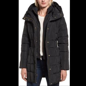 🔥🔥🔥NWT Cole Haan Hooded Down Puffer Coat